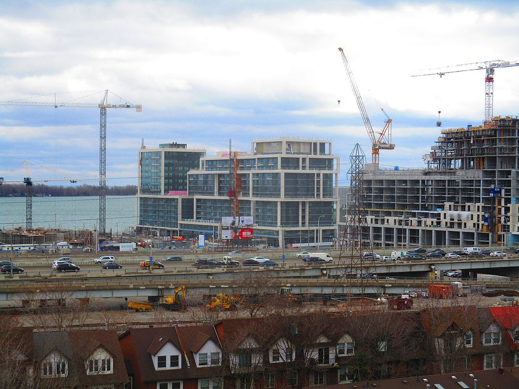 Condo being developed